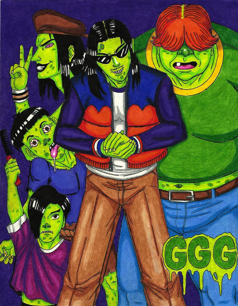 GanGreen Gang by Hentai-Ryukami