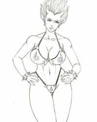 Callie Maggotbone sketch by Hentai-Ryukami