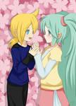 Len and Miku : Declaration of love