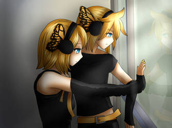 Rin and Len Kagamine - Magnet - Prisonners by LadyGalatee