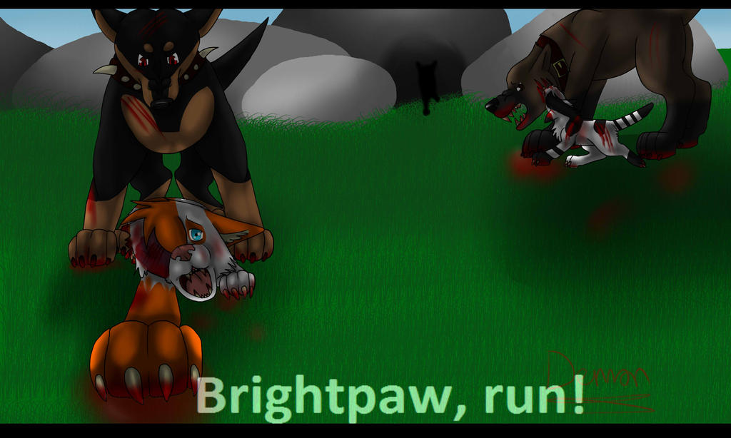 Brightpaw And Swiftpaw