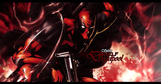 Deadpool Signature by Spliiintaaa