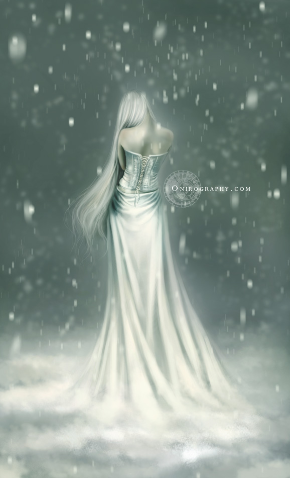 Layelis - The white lady by RozennIlliano