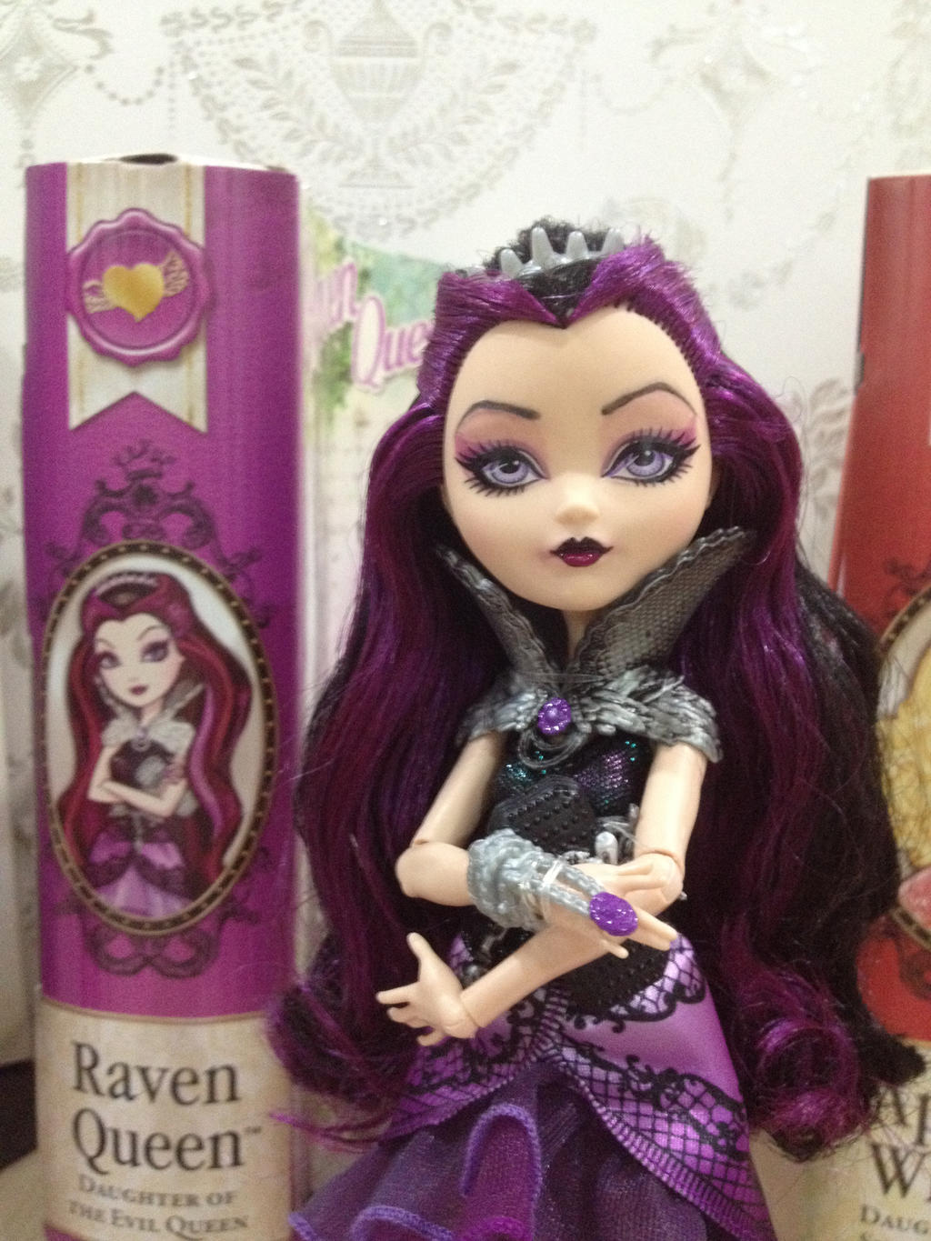 Ever after high raven queen ooak doll by rcoco dolls on deviantart