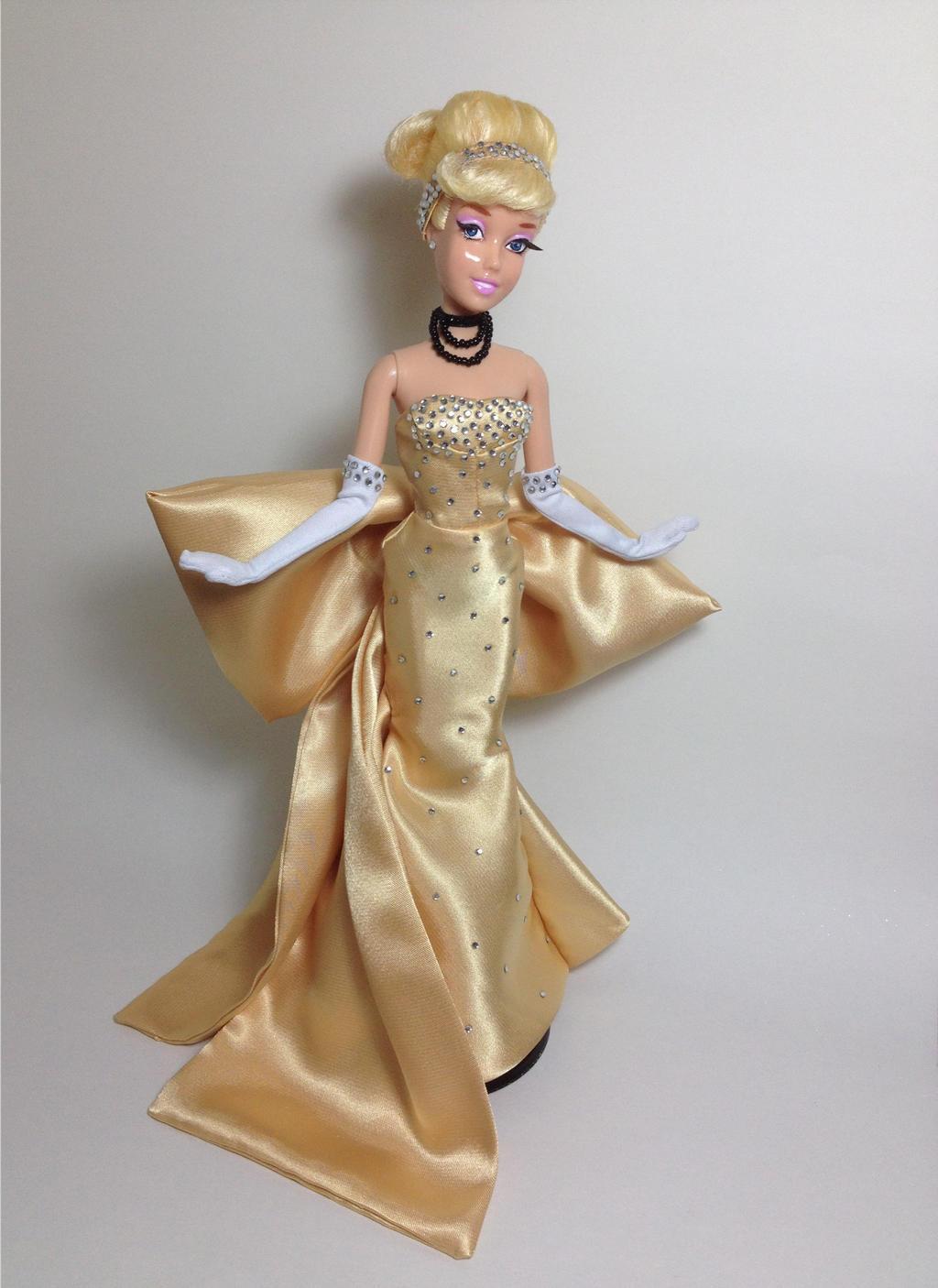 Disney Designer Golden Cinderella Ooak Doll by RCOCO-DOLLS