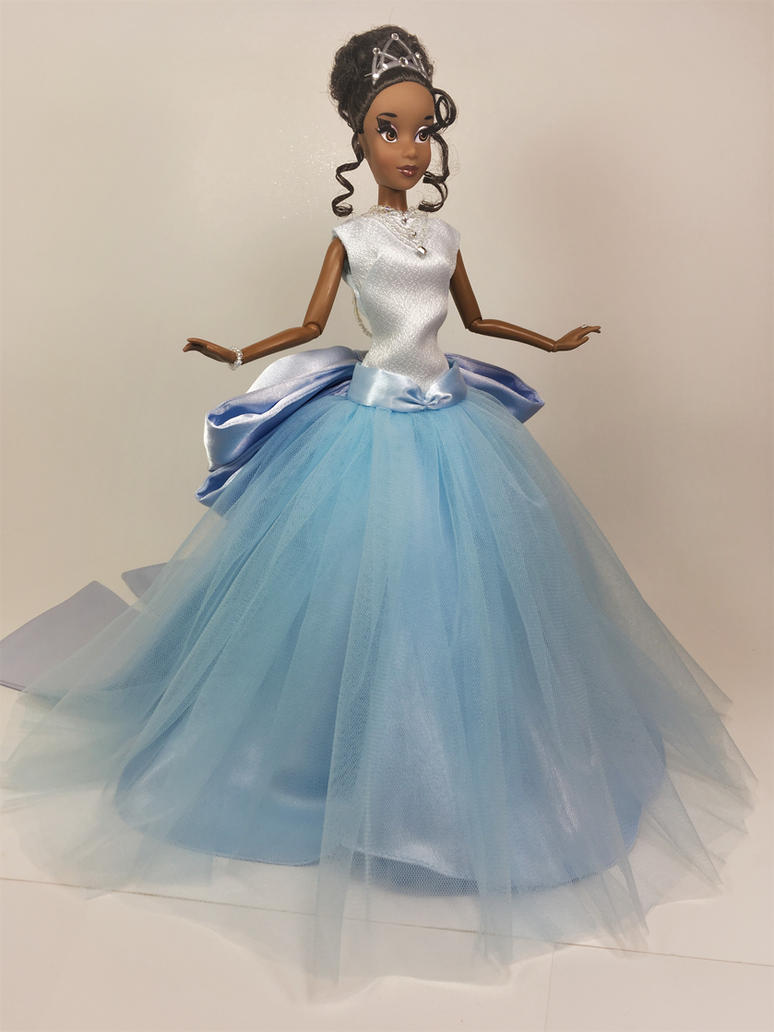 Tiana Princess Couture Gown OOAK Doll by BLUE-s-DOLLS on DeviantArt