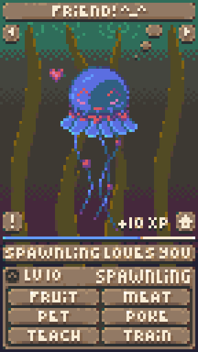 Spawnling mockup by fusecore