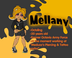 Mellany the octoling