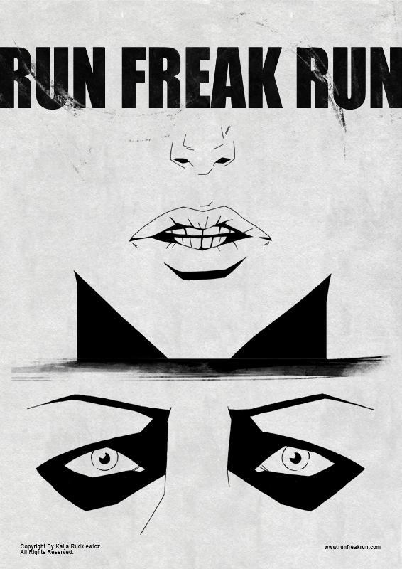 Run Freak Run poster01