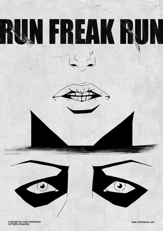 Run Freak Run poster01 by RunFreakRun