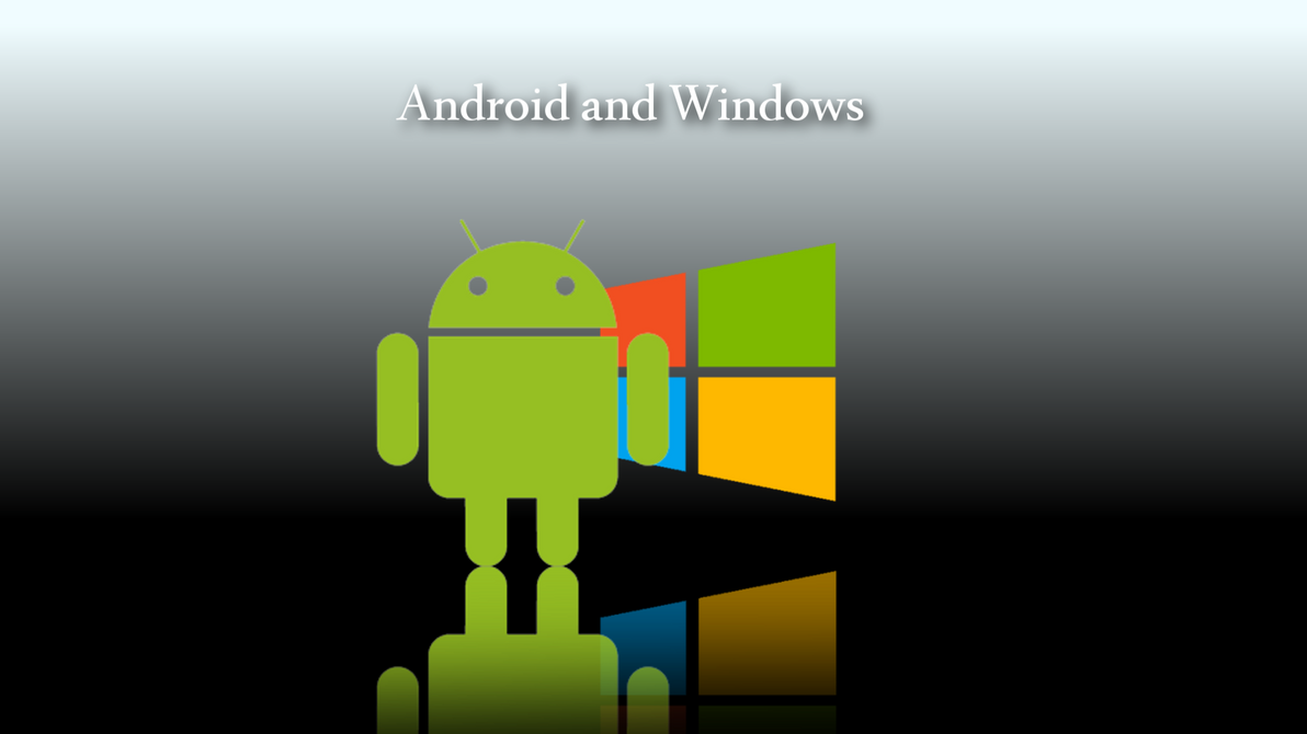 android and windows 8 wallpaper by windows7starterfan on