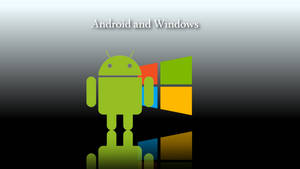 Android and windows 8 wallpaper