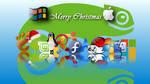 OS Christmas wallpaper