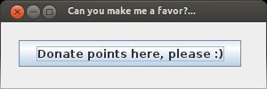 Free to use Ubuntu donate points window by Windows7StarterFan