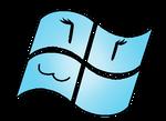 The Living Windows 7 Starter Computer Logo