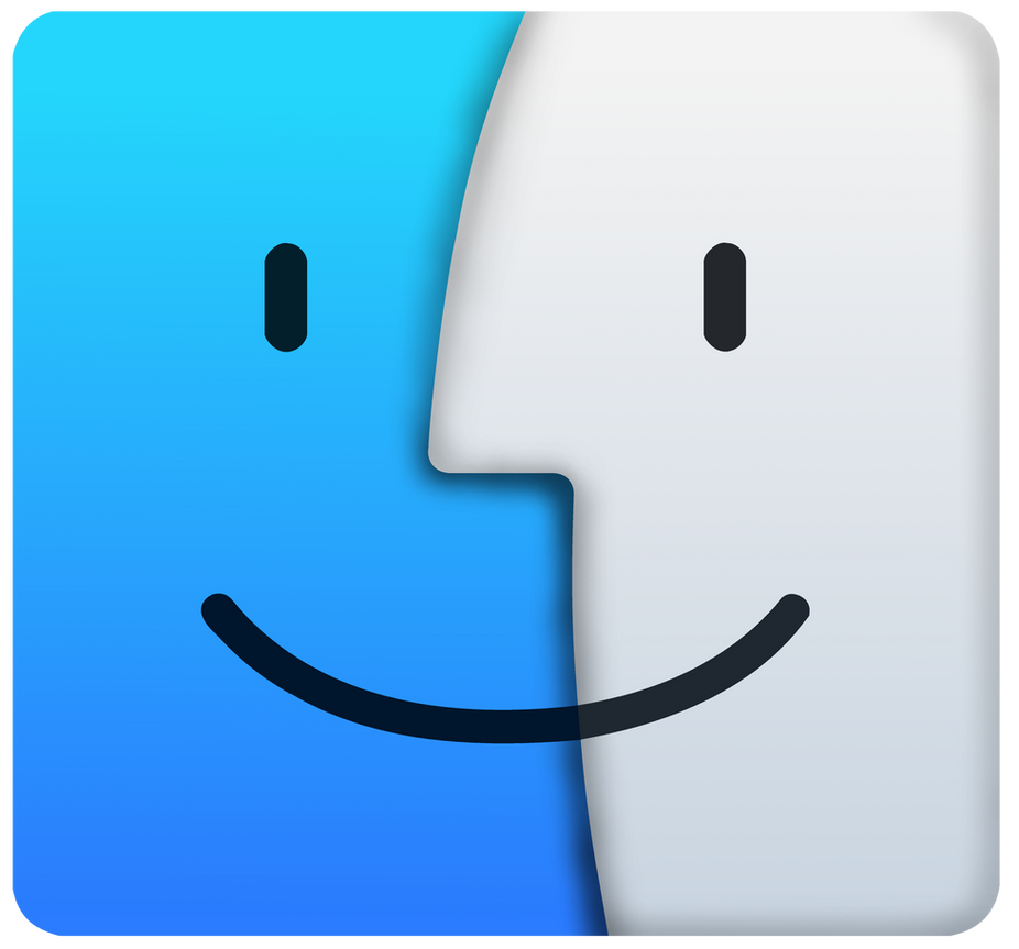 os x el capitan finder logovector by windytheplaneh on