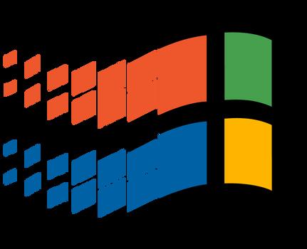 (request)Windows 95 vector(with speedpaint)