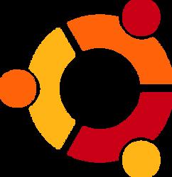 (with speedvideo) Ubuntu logo vector(2) by WindyThePlaneh