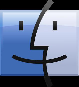 Finder Logo vector(remade) by WindyThePlaneh