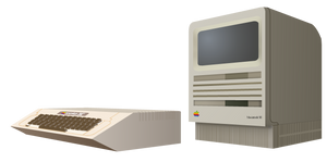 (late gift)Mac Se and Apple 2