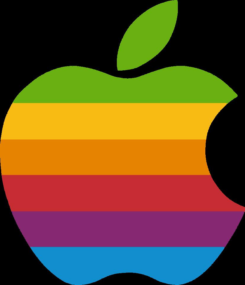late gift rainbow apple logo vector by windytheplaneh on deviantart rh windytheplaneh deviantart com apple logo vector image apple logo vector download