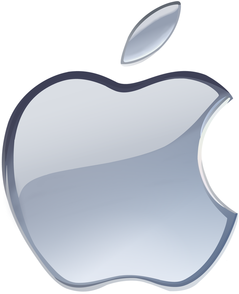 late gift)silver apple logo vector(1)windytheplaneh on deviantart