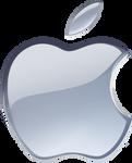 (late gift)Silver Apple logo vector(1)
