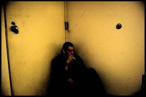 In the corner... by machstein