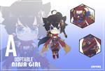 [Open] Adoptable Ninja girl