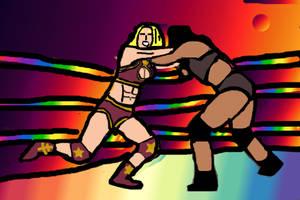 Jeannie Wrestling36
