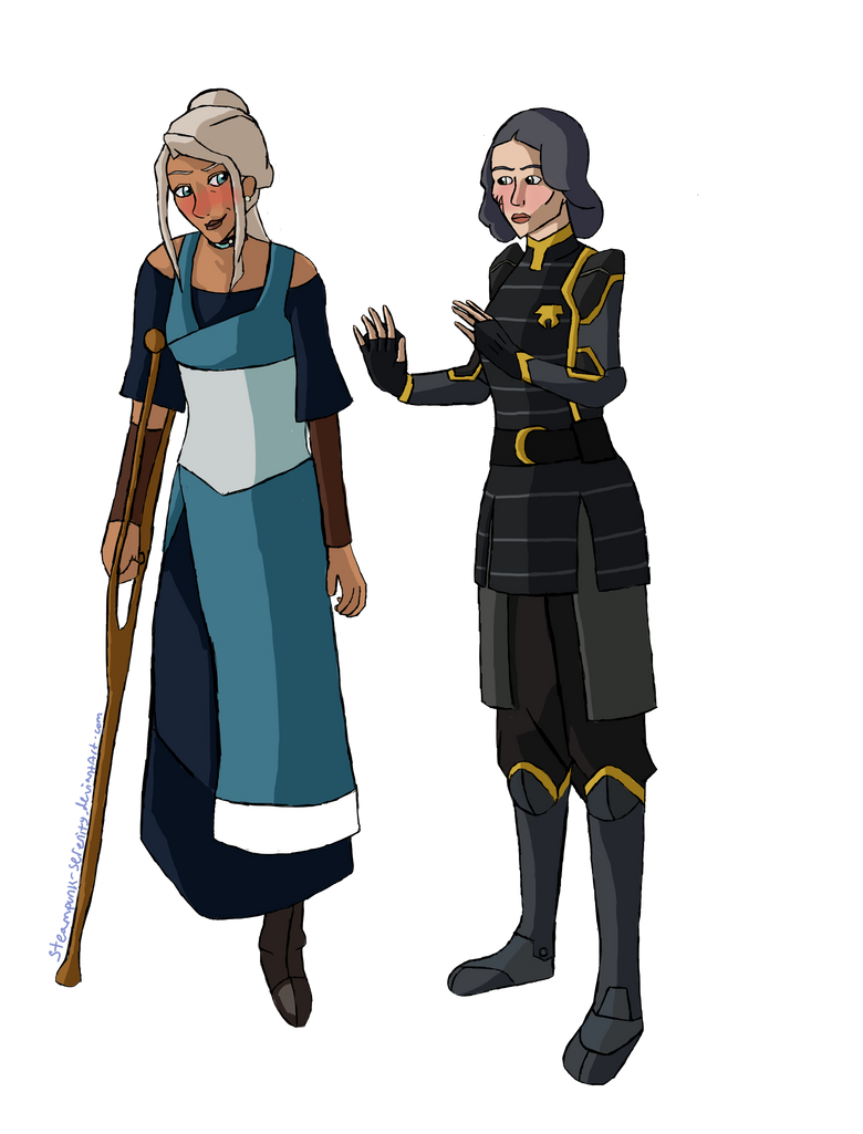 Legend of Korra: Kyalin by Steampunk-Serenity