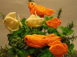 Fish Carving by Chuncarv