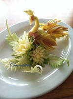 Apple Peacock Zucchini by Chuncarv