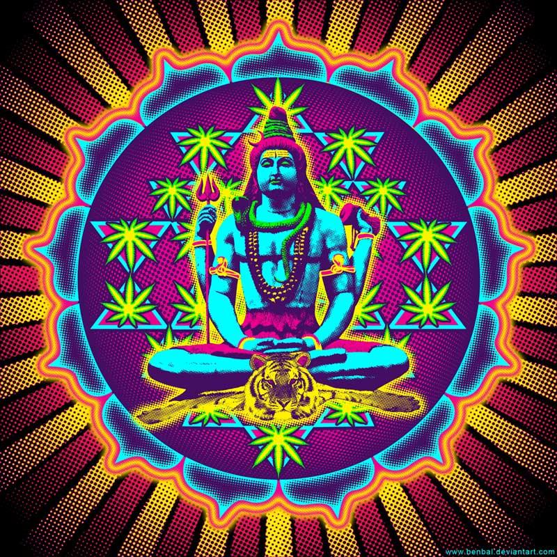Shiva Ganjayantra by benbal