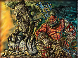 WARCRAFT DotA_BattleFront by benbal