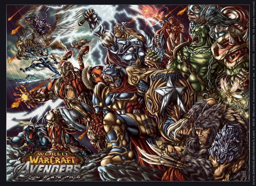 Képek Word_of_warcraft__avengers_invasion_by_benbal-d4qsfpv