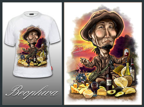 commision: Beophwa caricature tees