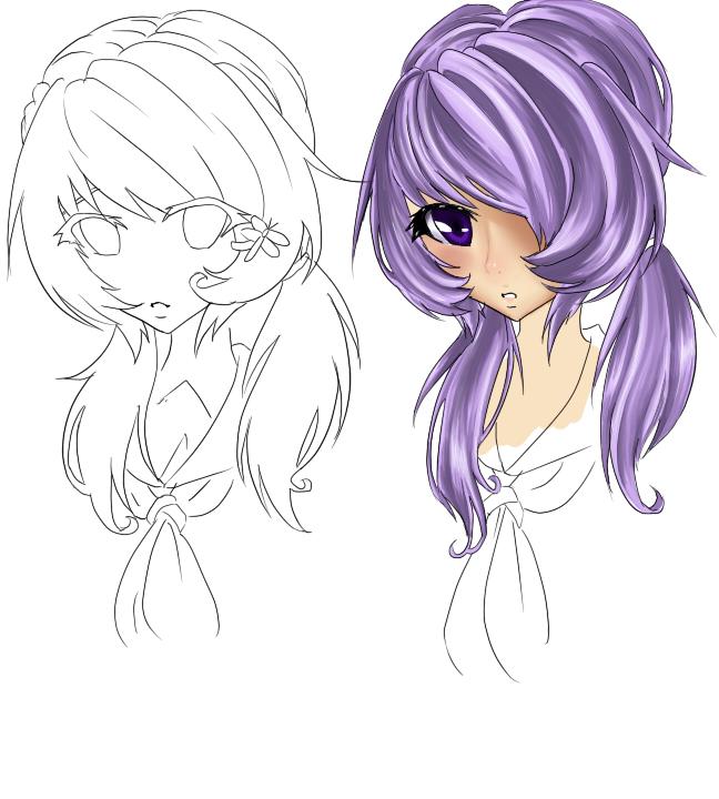 Hotaru Sketch by XxPhantomRiderxX