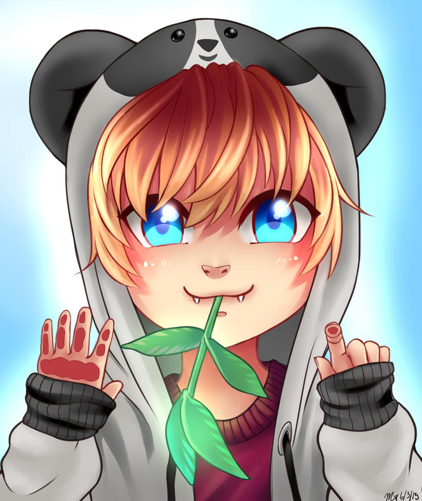 Panda-Tan! by XxPhantomRiderxX