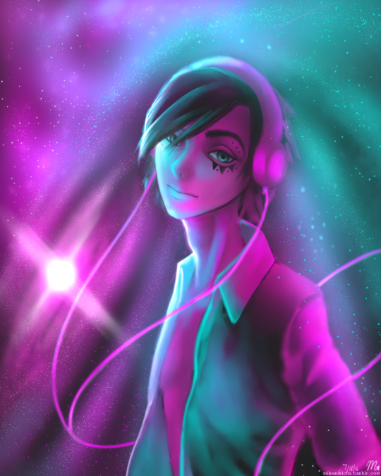 Space Hipster by XxPhantomRiderxX
