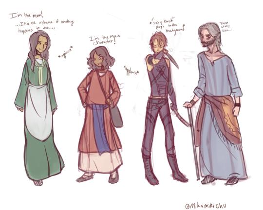 Character Designs by XxPhantomRiderxX