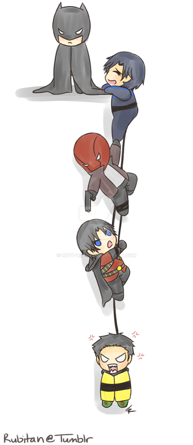 Hanging Robins by Ruby-Heart