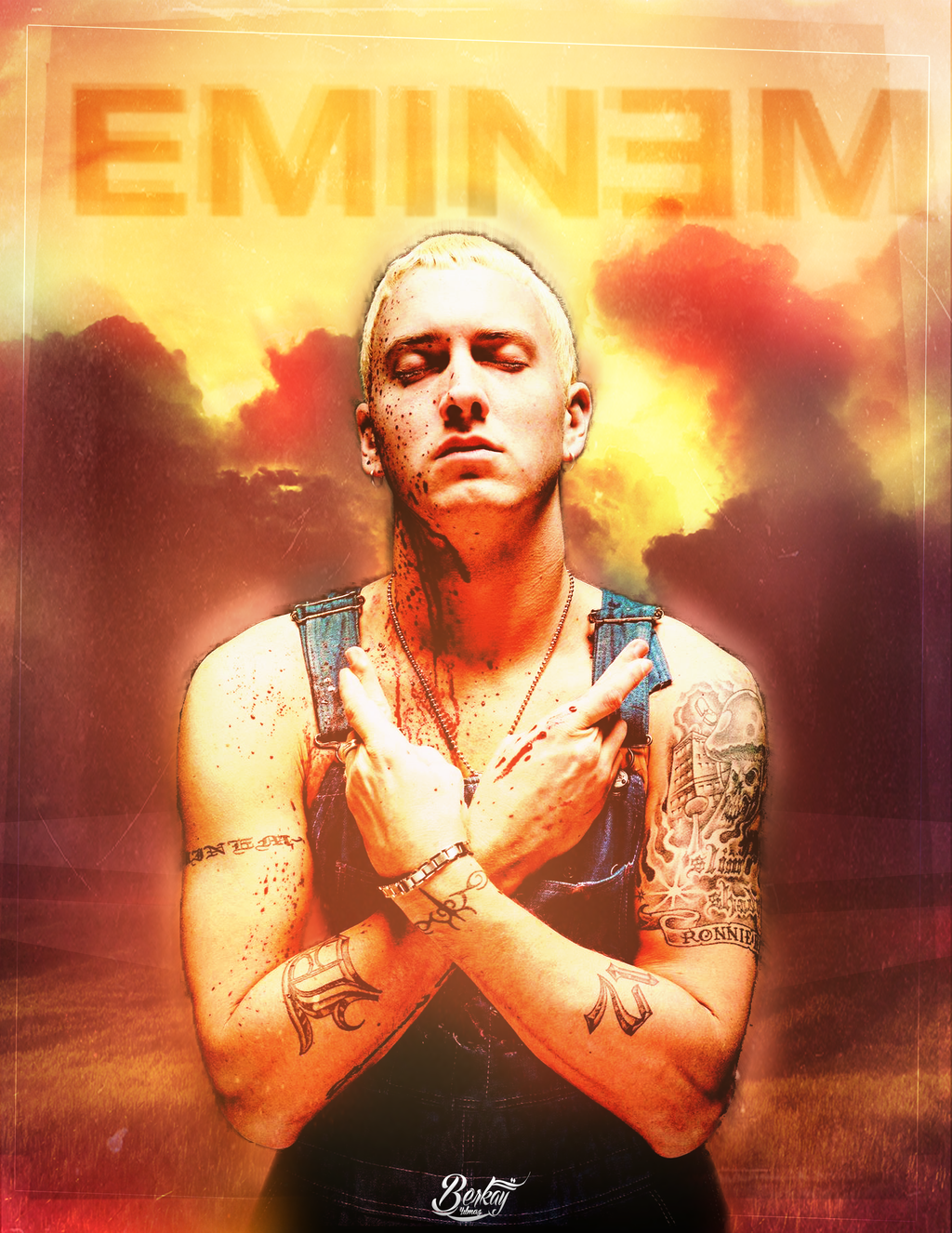 Eminem Poster by BerkayGraphic on DeviantArt