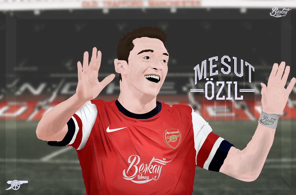 Mesut Ozil Vector Art By BerkayGraphic On DeviantArt