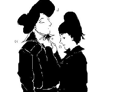 couple-Xunpei by Mercurykin