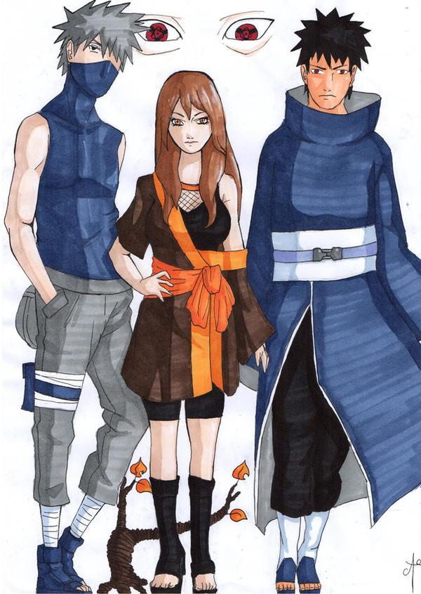 Kakashi And Obito Fan Art Rotted Rowan- Ti...