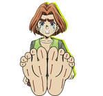 Hayato Kawajiri's Feet Was Bitten!