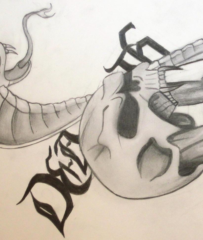 Skull and snake drawing by xxxslipknot771xxx on deviantart skull and snake drawing by xxxslipknot771xxx thecheapjerseys Gallery