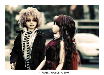 Travel Trouble I by selfrevolution