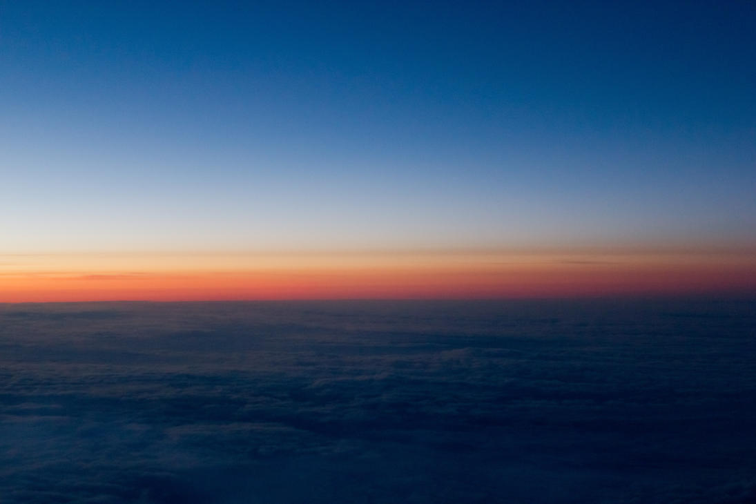 Above The Clouds Sunset Over Siberia By Evolutionxbox On